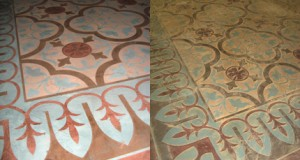SkimStone and Stencil Class: Ibiza Concrete Carpet