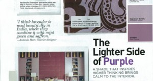 Decor Ideas: The Color Purple