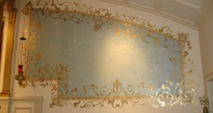 House to Home Designs Heavenly Stenciling