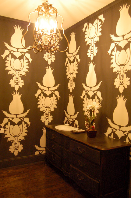 Debbie Hayes Stenciled Decorative Finishes Paint Pattern
