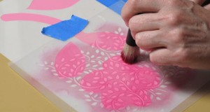 Fresh Stencil Project: Flower Patch Design