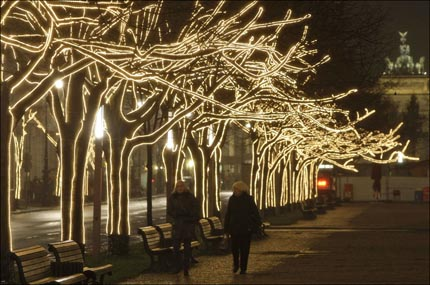 GERMANY CHRISTMAS ILLUMINATION
