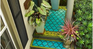 Patterned Porches: Outdoor Decor