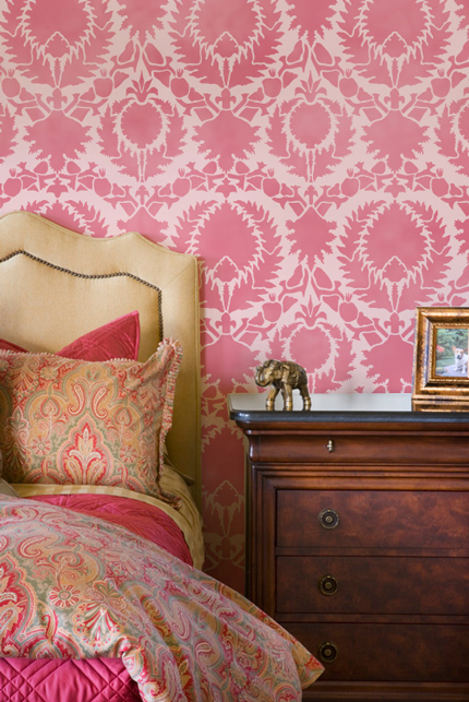 Pretty in Pink... and Coral Color Combinations - Paint + Pattern