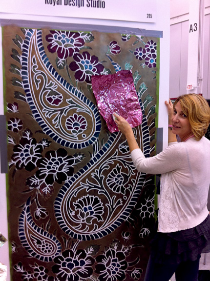 Stencils Are A Hit At Idal Paint Pattern