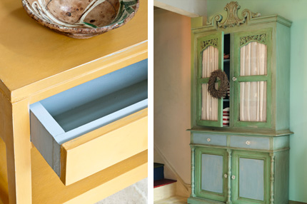 Annie Sloan Chalk Paint painted furniture