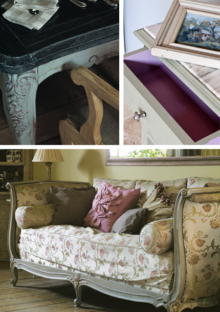 Annie Sloan Chalk Painted furniture