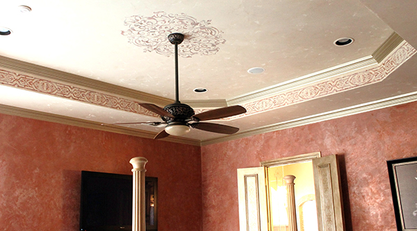 Stencil star amy christensen s stencil treatments paint - What size fan should i get for my bedroom ...