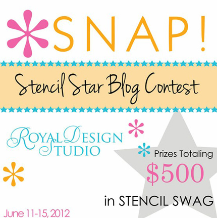 stencil giveaway contest