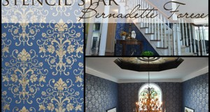 Stencil Star: Bernadette Forese's Stenciled Floors