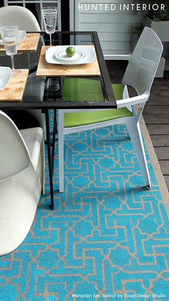 Contemporary_Stenciled_Rug_by_The_Hunted_Interior_1