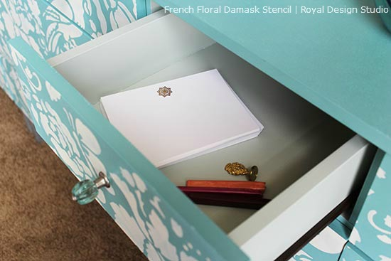 Damask-Stencil-on-Drawer_1