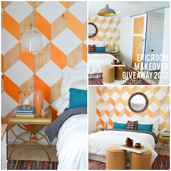 An Epic Mandilicious Room Makeover, Nova Trellis by Royal Design Studio Stencil