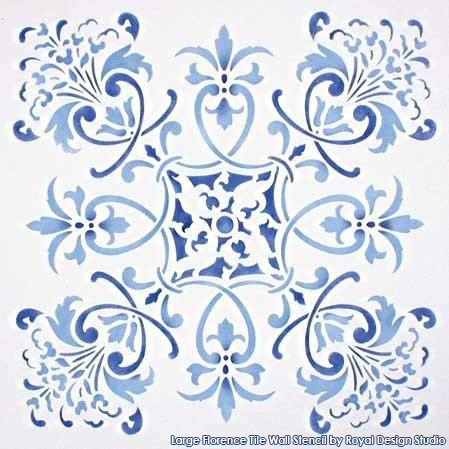 Florence_Tile_Wall_Stencil