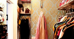 Decorated Closets with Chic Stencil Style!