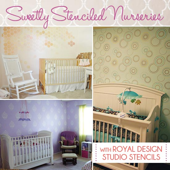 Stenciled-Nurseries-Collage