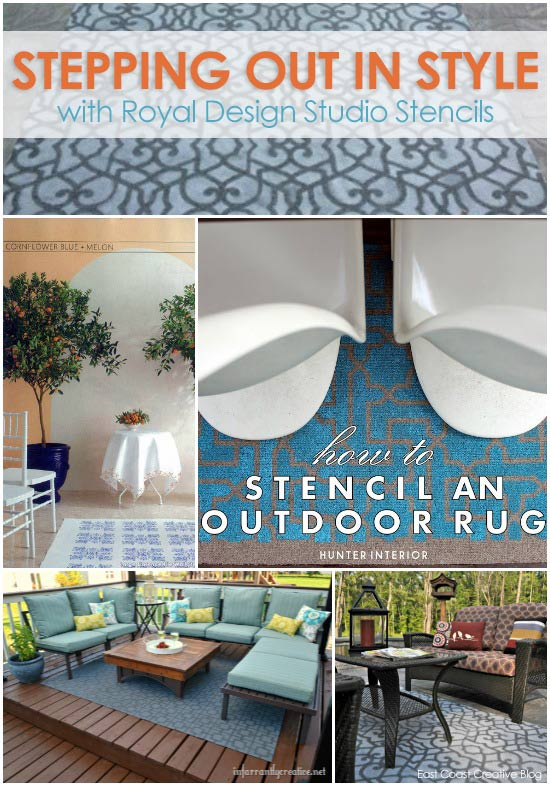 Stenciled-Outdoor-Rugs