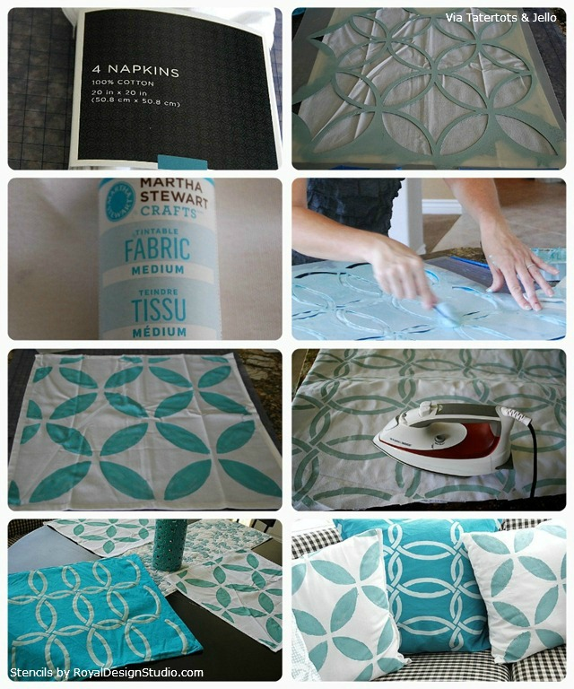 Stenciled_Napkin_Pillows_How-To_Tutorial