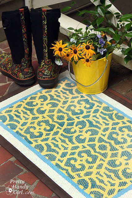 Stenciled_Welcome_Mat