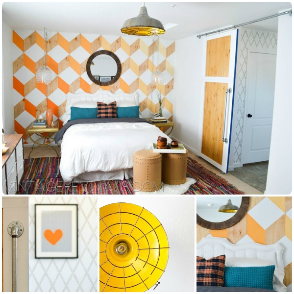 An Epic Mandilicious Room Makeover | Nova Trellis by Royal Design Studio Stencil