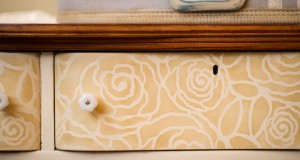 Top Drawer Stenciled Furniture with 3 Oaks Studio!