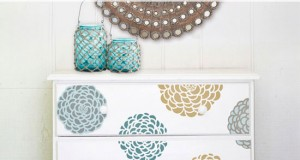 Stencils, Dressers & Drawers, Oh My! Painted Furniture Ideas