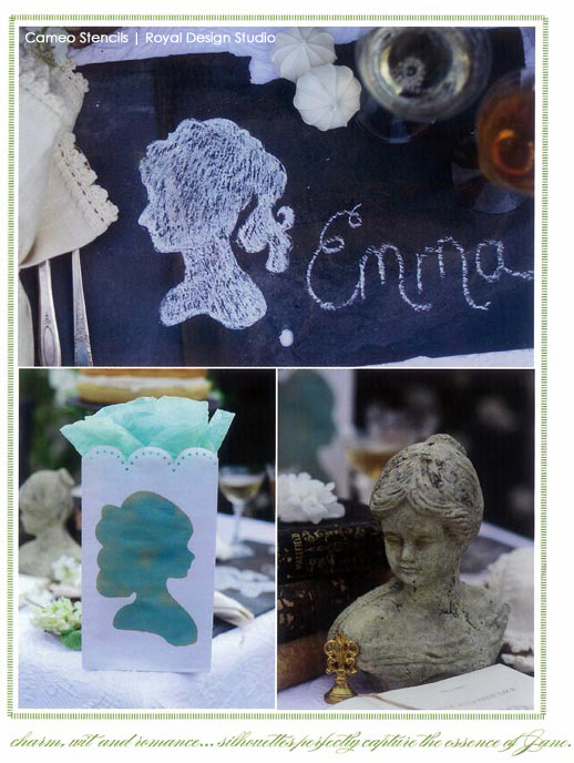 chalkboard-cameo-celebrating-everyday-life-stenciled-table