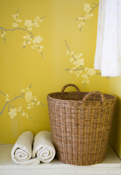 Stencil Ideas for a Laundry Room You\'ll Love - Paint + Pattern