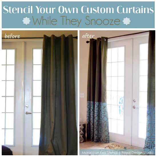 fabric-stenciling-curtains-drapes