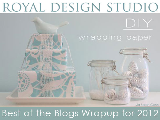 how-to-stencil-gift-wrap-paper