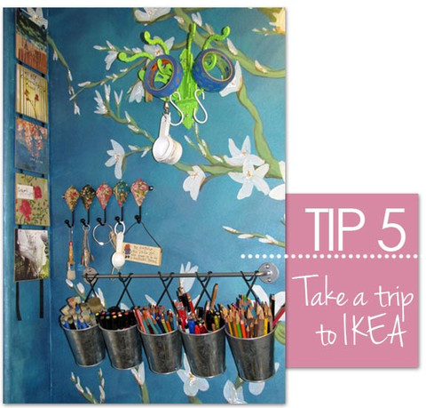 10 Tips On Organizing Your Studio by Royal Design Studio