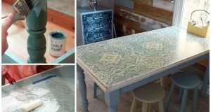 Pretty Handy Girl Table Transformation