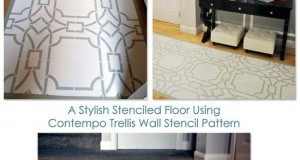 A Stylish Stenciled Floor