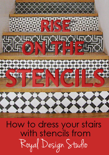 stencils-how-to-stair-risers