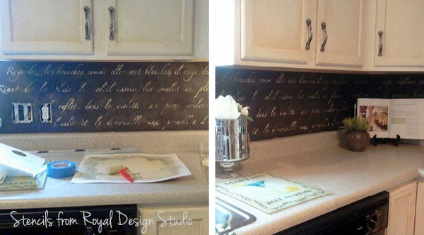 stenciled-backsplash-kitchen-stenciling-ideas