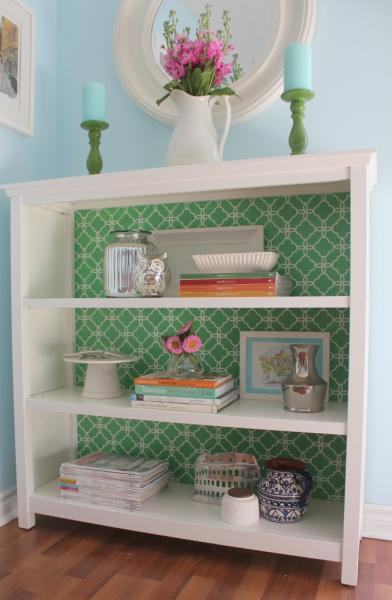 stenciled_bookcase