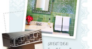 Stenciling Ideas for Stylish Bathrooms