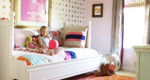 Stars Come Out to Play: Star Stencil for Girl's Bedroom