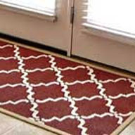 Sew Dang Cute Stenciled Rug