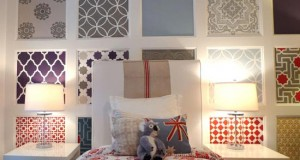 Moroccan Stenciled Feature Wall
