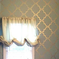 Stenciling Interiors on a Dime