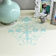 Stenciling Projects From Trash to Treasure