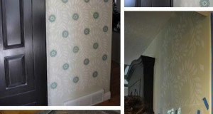 Airbrush Wall Stenciling with a Roar!
