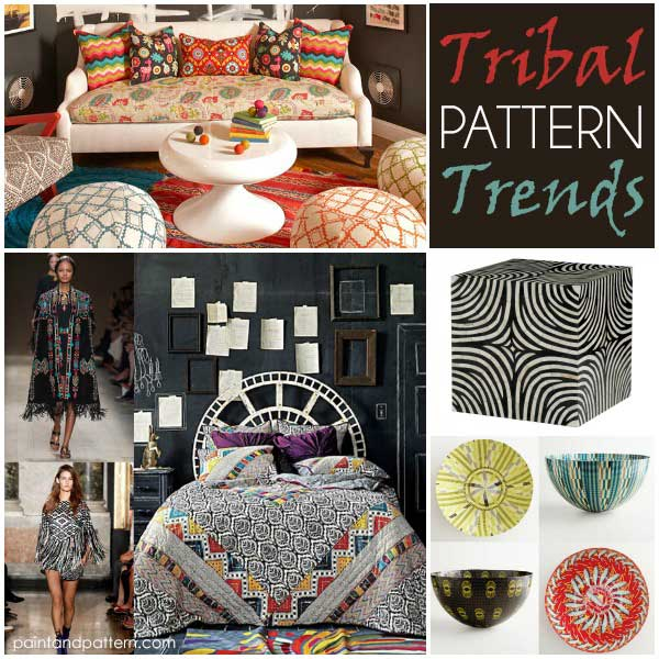 Tribal trends from African inspired interiors