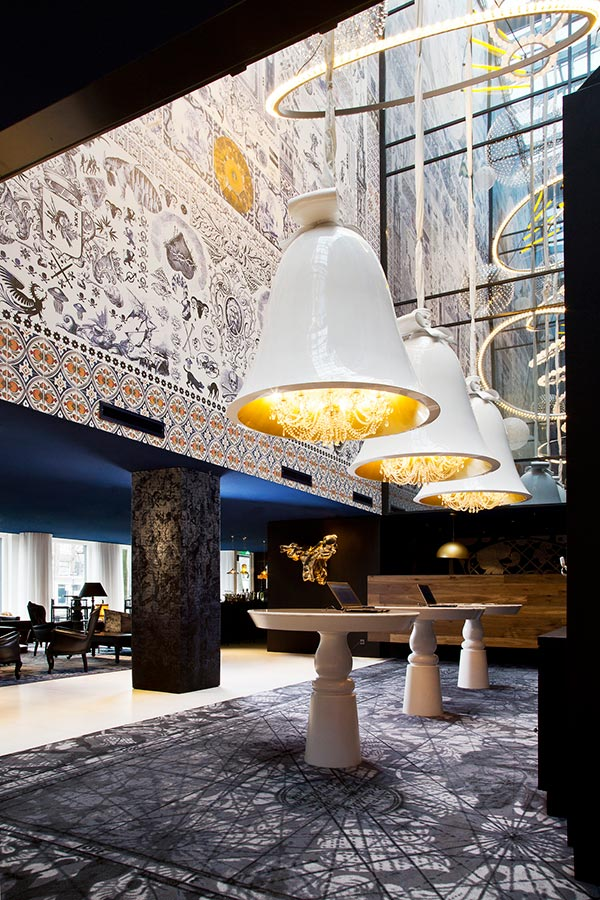 Andaz Amsterdam Hotel as designed by Marcel Wanders