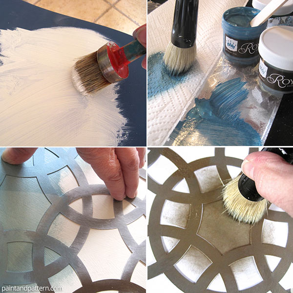 How to stencil with Stencil Cremes