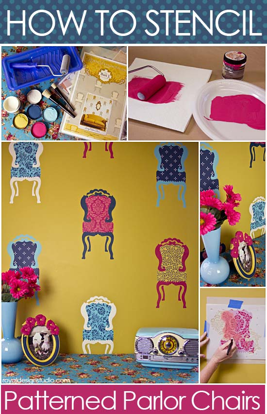 How-to-stencil-pattern-chairs