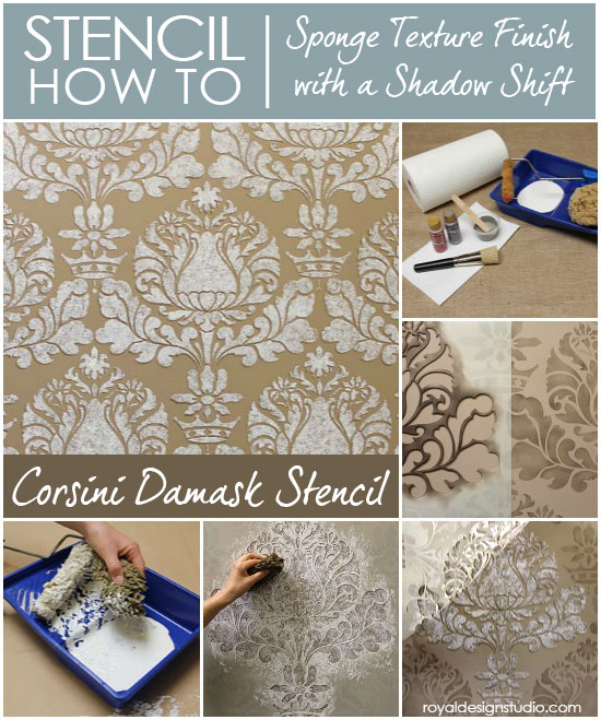 How-to-stencil-sponge-texture