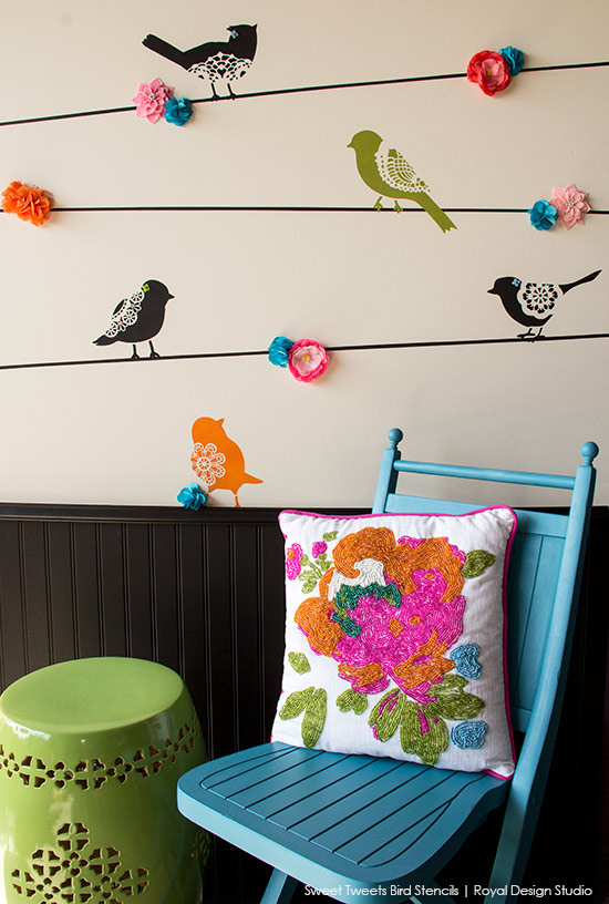 Lace-Bird-Stencil-How-to