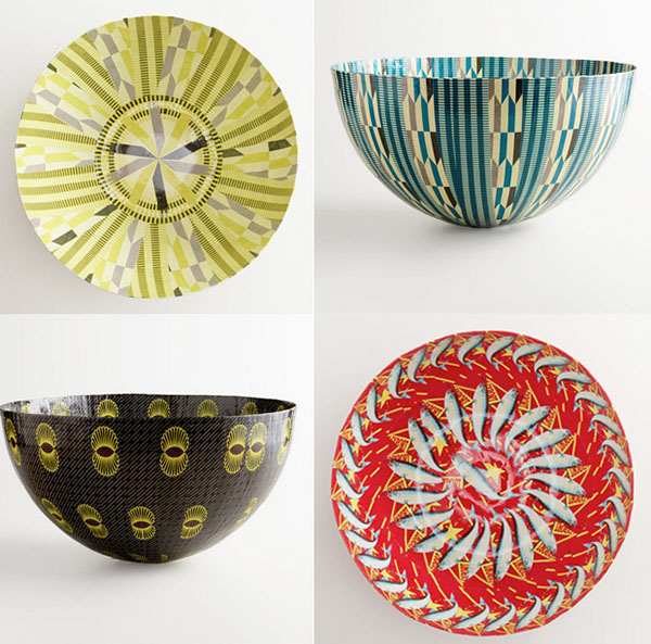 Baskets and Lamp Shades | Tribal Pattern Trends from World Market